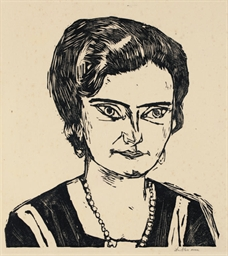 Portrait of 'Frau H.M.' (Naila