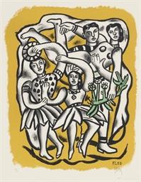 Les Danseuses (Fond Jaune) (Sa