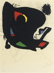Poster for Miró. L'Oeuvre grap