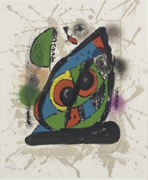 Joan Miró Lithographs IV: one