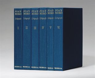 Joan Miro Litógrafo [Vols. I-V