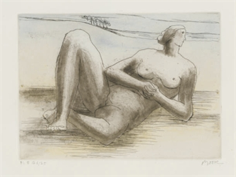 Reclining Figure 8, from The R