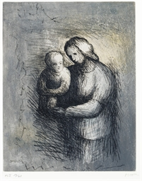 Mother and Child I, from Mothe