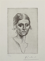 Portrait d'Olga Picasso (Bloch