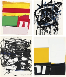 four untitled prints