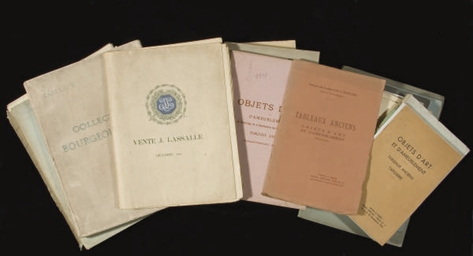 LOT DE CATALOGUES DE VENTES