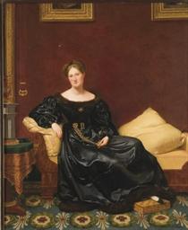 Femme dans un intérieur