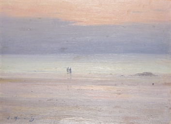 Promenade sur la plage au sole