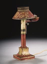 LAMPE A QUINQUET DU XIXEME SIE
