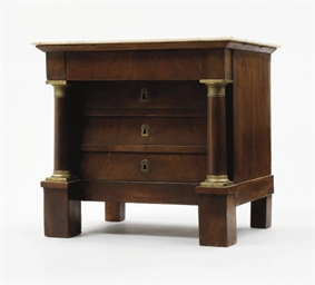 COMMODE MINIATURE DU XIXEME SI