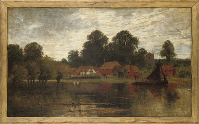 A village by the Thames