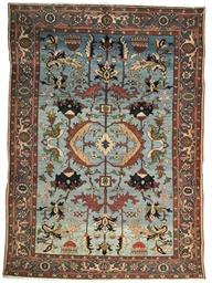 A fine modern Heriz carpet
