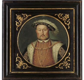 Portrait of King Henry VIII, b