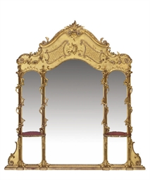 A GERMAN GILTWOOD AND COMPOSIT