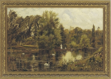 Boating on the Thames, Windor