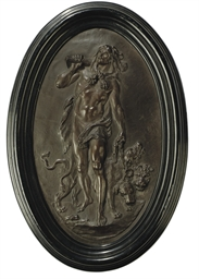A COPPER ELECTROTYPE RELIEF OF