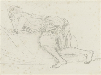 Study of a woman in repose