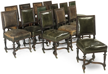 A SET OF FOURTEEN VICTORIAN EB