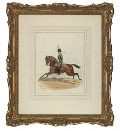 A mounted officer of The Princ