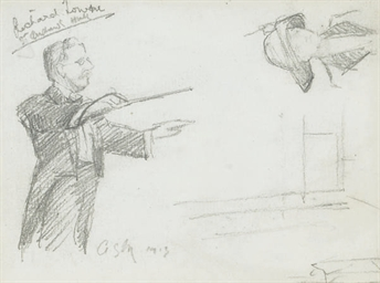 Richard Lowne conducting at St