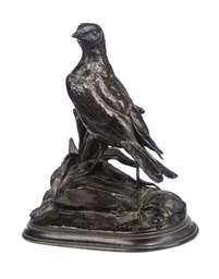 A FRENCH BRONZE MODEL OF A PAR