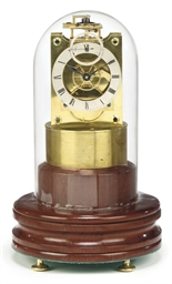 A brass eight day chronometer