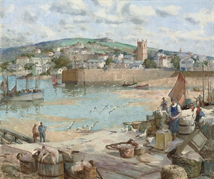 The fishing quay, St. Ives