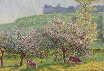 Apple-Blossom time in Arc-la-Bataille