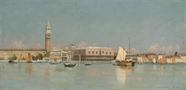 The Doge's Palace from the Bacino, Venice