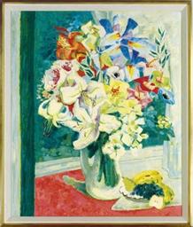 Fleurs Glorieuses á la Fenétre