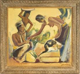Four Balinese women