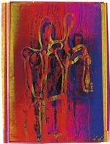 Royal Pair, 1976; and Girl (Original Refraction Drawing), 1984