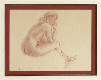 Nude Sketch No. 8; and a compa