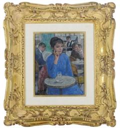 Marie-Lize, rêveuse en blue, a