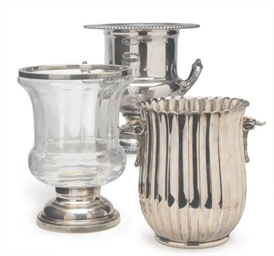 AN ITALIAN SILVER WINE COOLER,