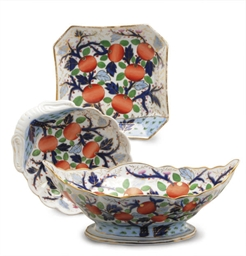 AN ENGLISH PORCELAIN IMARI PAT