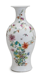 A CHINESE PORCELAIN VASE ENAME