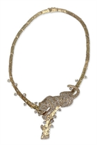 A DIAMOND AND 18K GOLD NECKLACE, BY PAUL FLATO