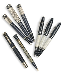 A GROUP OF WRITING INSTRUMENTS