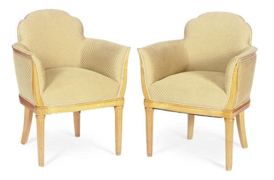 A PAIR OF FRENCH ART DECO SYCA