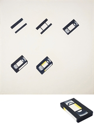 How to Paint VHS Tape