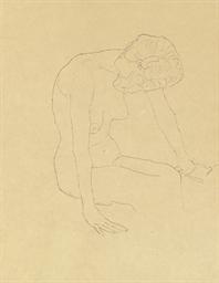 Studie einer nackten Frau