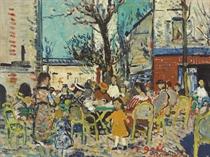 Un /et/e en famille, Place du Tertre Montmartre