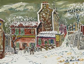 Le Lapin Agile à Montmartre