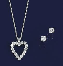 A diamond pendant, by Kutchins