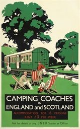 CAMPING COACHES IN ENGLAND AND