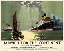 """HARWICH FOR THE CONTINENT, """"VIENNA"""""""