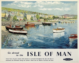THE ISLE OF MAN, PORT ST. MARY