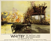 """WHITBY, CAPTAIN COOK'S """"ENDEAVOUR"""" 1764"""