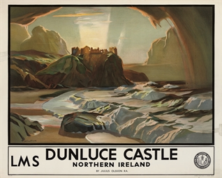 DUNLUCE CASTLE, NORTHERN IRELA